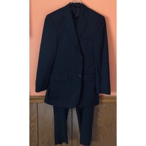1f2d267f068 A. Bank Suits   Blazers - Signature Collection Tailored Fit Navy Suit